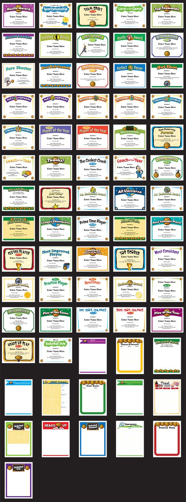 Sports certificate template sports certificate templates youth basketball award certificate templates awesome sports certificates will be the hit of the post xflitez Gallery