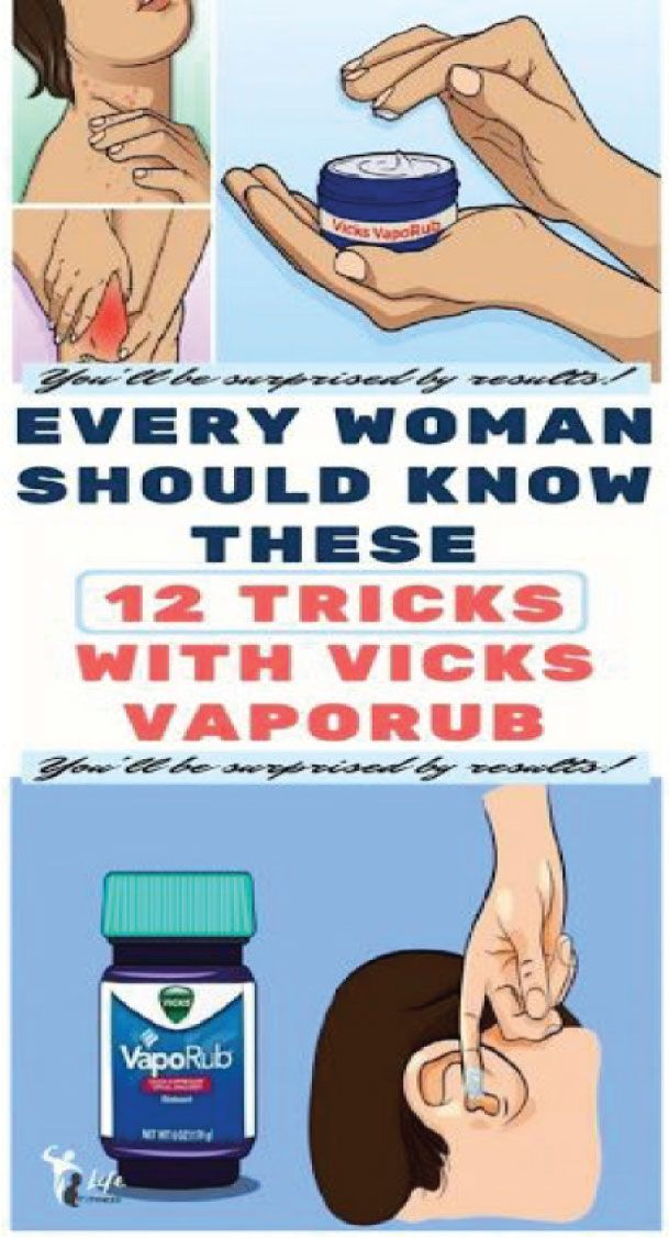 Every Woman Should Know These 12 Tricks & Vicks Va