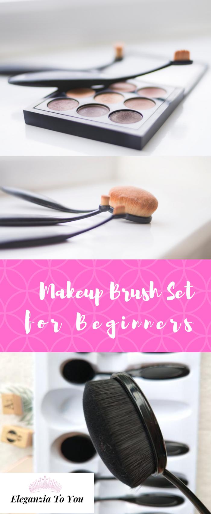 Makeup Brush Set for Beginners eleganziatoyou