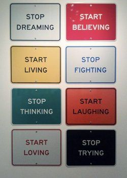 Stop, Start