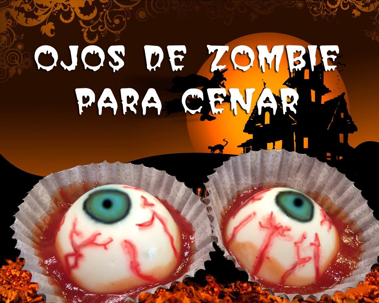 Recetas para Halloween: Deliciosos ojos de zombie para cenar ...