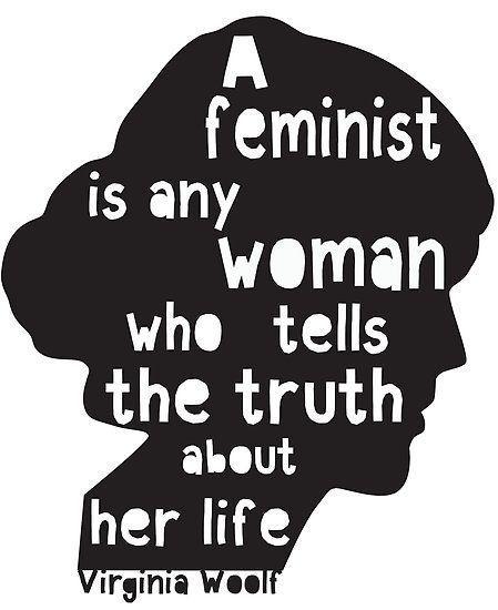 Virginia Woolf Feminist Quote