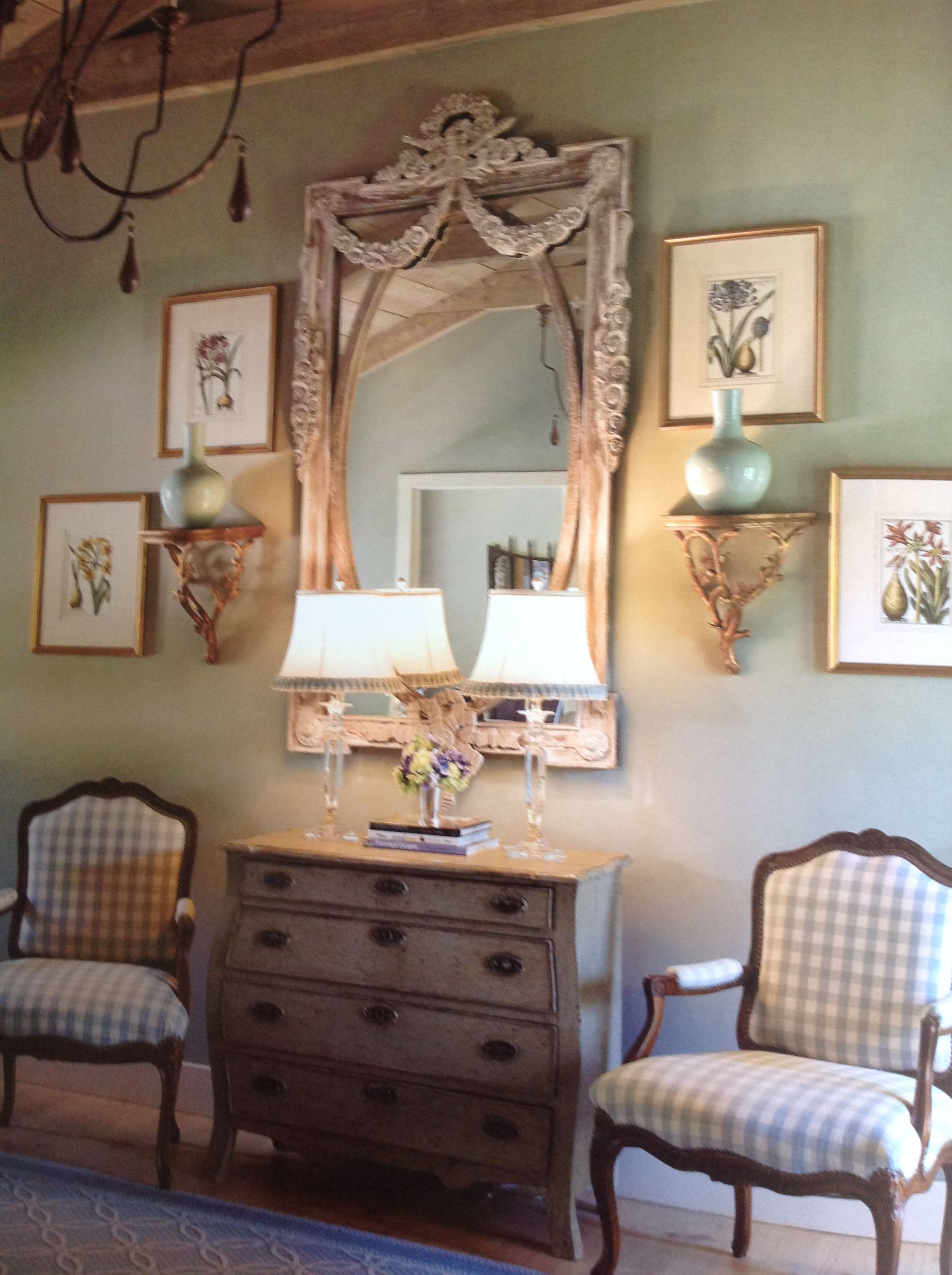 This paint color! | Living Room | French country bedrooms, French ...
