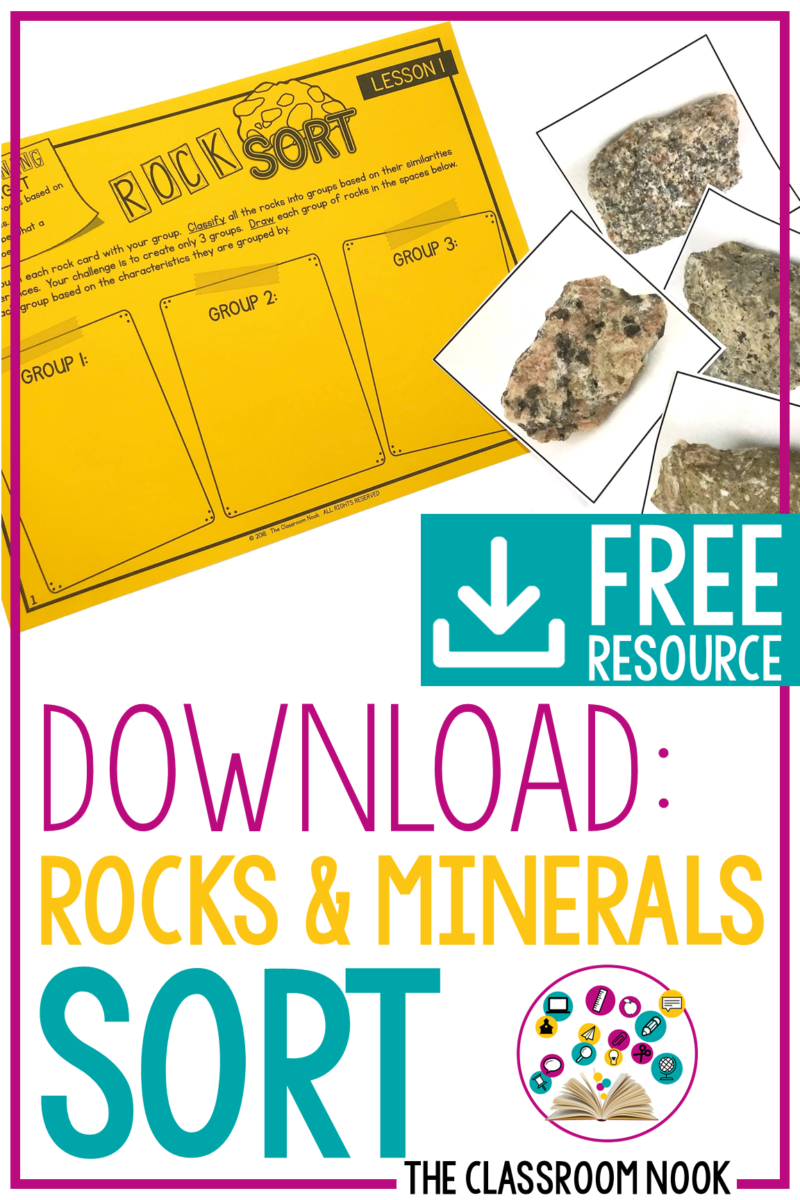 Getting Ready To Teach Rocks And Minerals