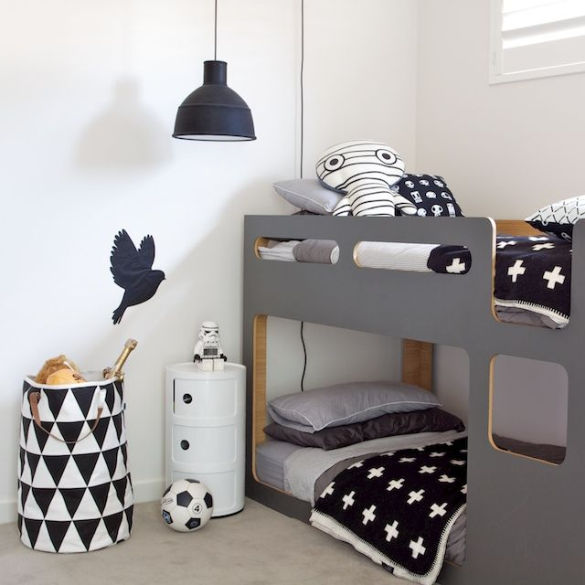 Lovely Individual Pieces. Monochromatic Scheme Keeps It Looking Tidy And  Perfectly Ordered. Boys Monochrome