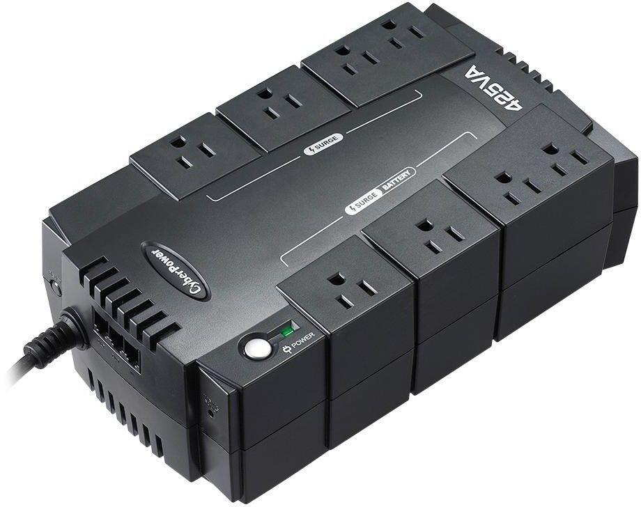 425v ups battery backup extension cord surge protectors