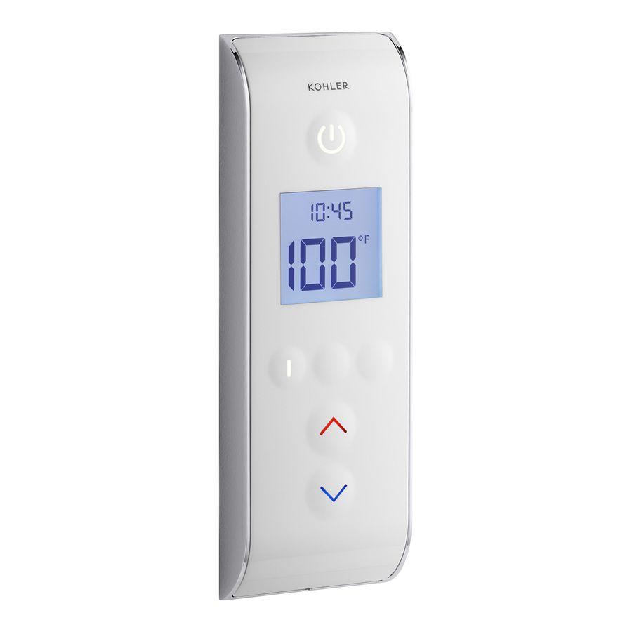 Kohler White Shower Control Panel 558 E 0 In 2020 Shower Controls