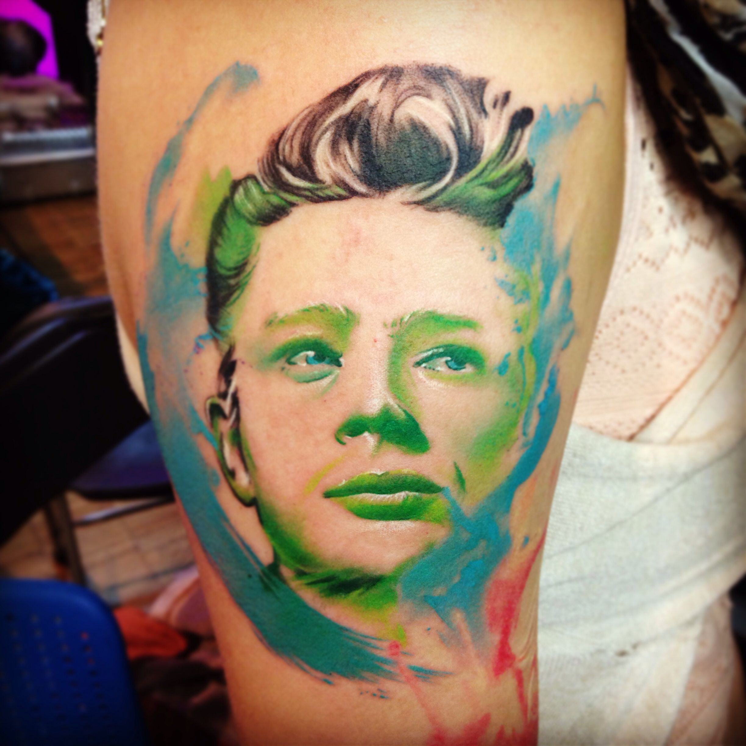 James Dean Aquarealistix... (With images) Tattoos