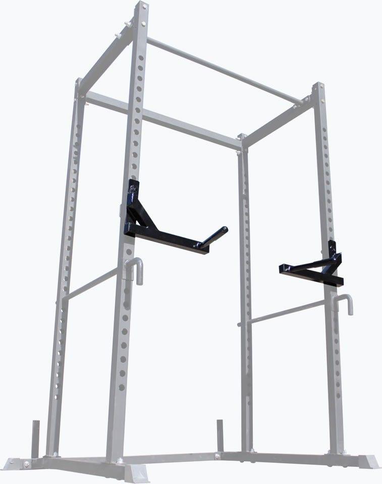 2 Series Dip Bar Attachment for Power Rack Strength