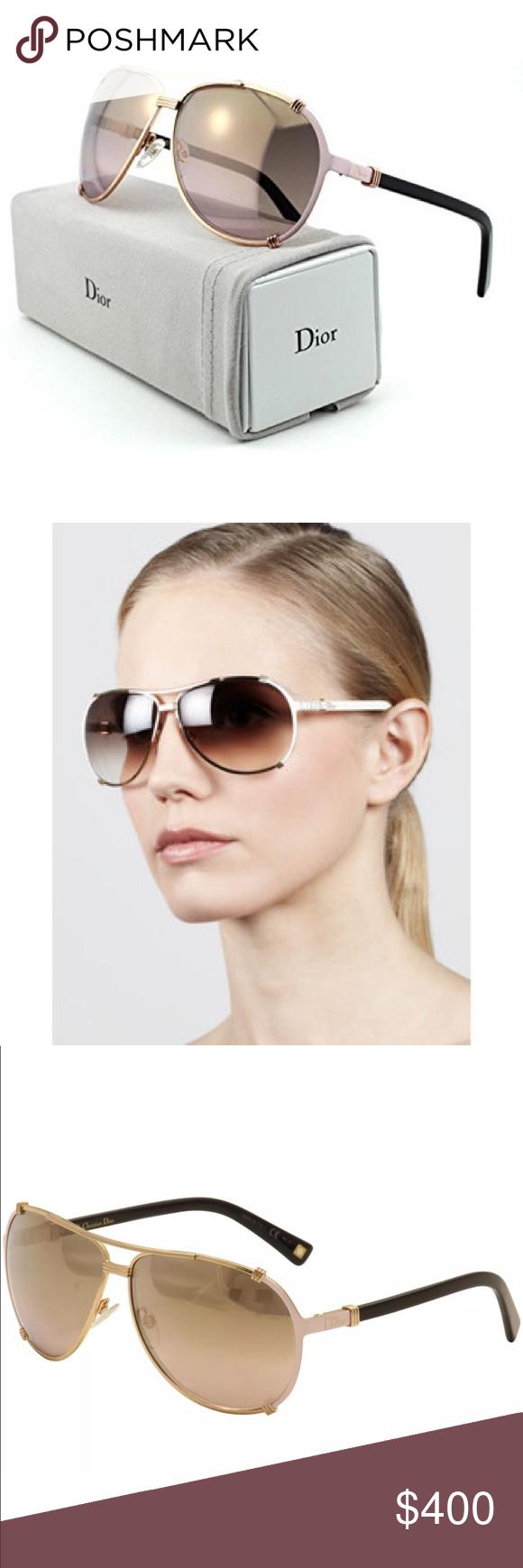212e99752e75 Christian Dior Sunglasses Christian Dior Women's Chicago-2/S HFBOR Gold/Pink /Black Pilot Sunglasses 63mm Product Indormation Brand: Christian Dior  Model: ...