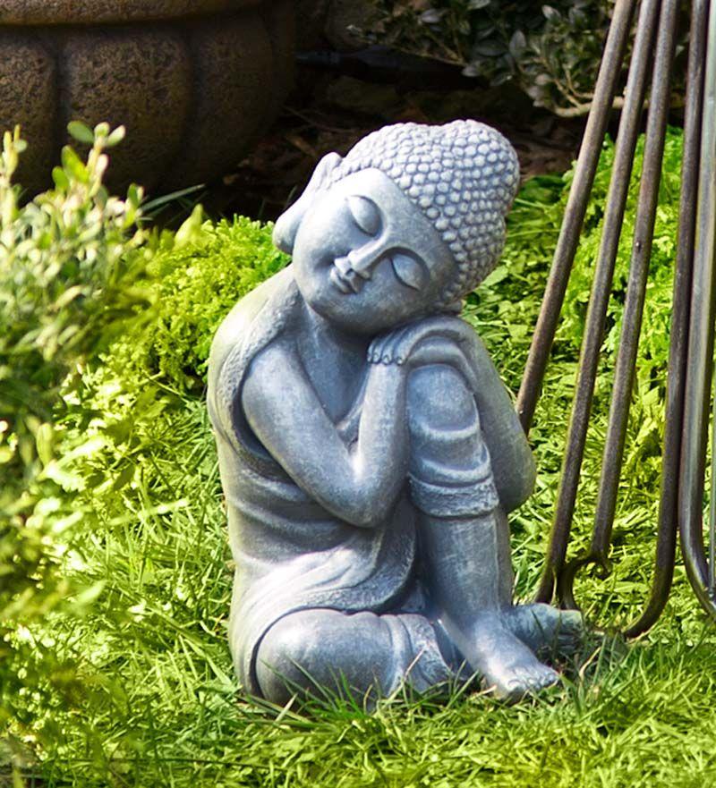 Charmant Resting Buddha Garden Statuary