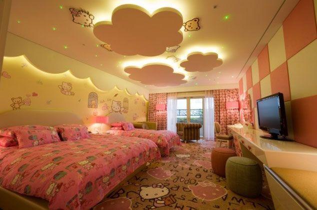 Como decorar techos de dormitorios infantiles by ideas pinterest - Iluminacion habitacion bebe ...