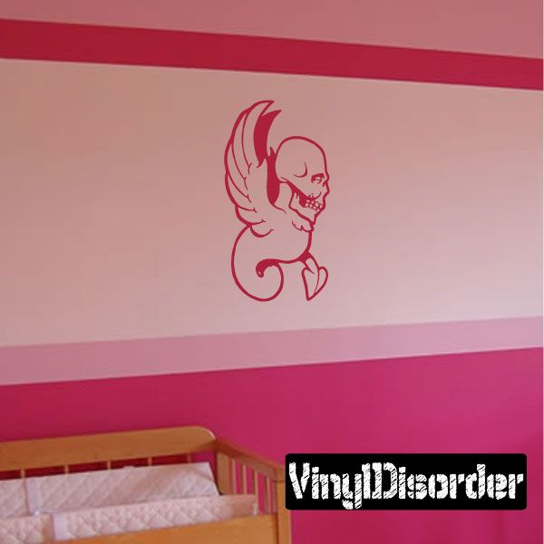 Skull Wall Decal - Vinyl Decal - Car Decal - CF425