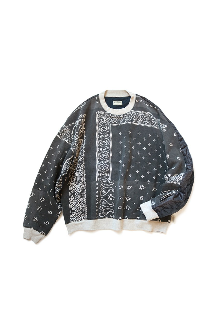 Kapital Releases Half Quilted Bandana Sweaters In Five Bold Colorways Fashion Gangsta Style Streetwear Outfit [ 1280 x 853 Pixel ]