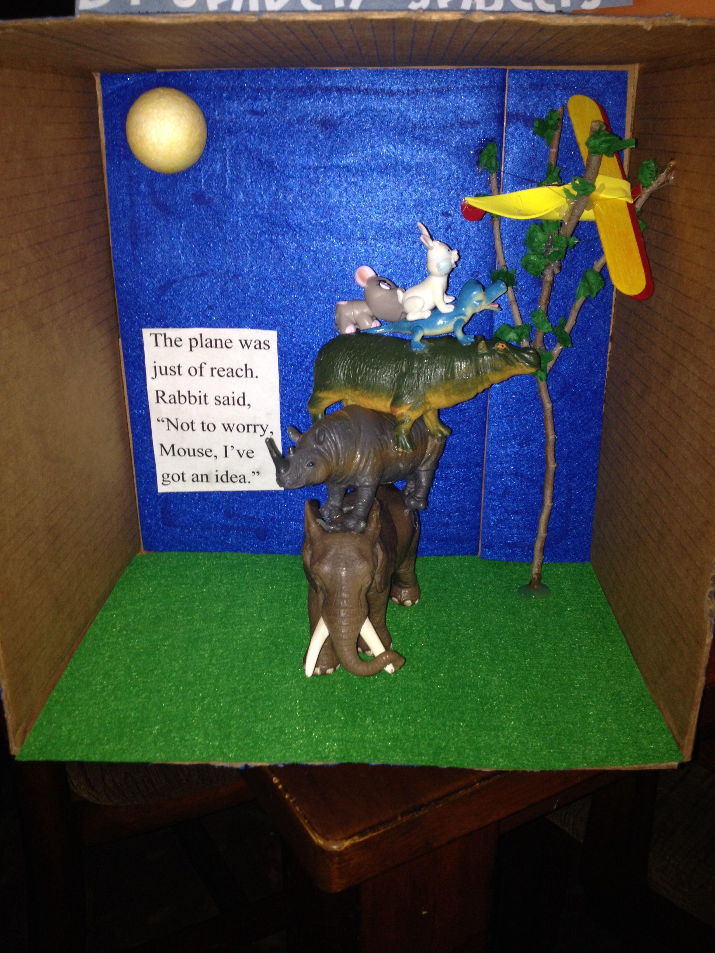Caldecott Project My Friend Rabbit By Eric Rothmann