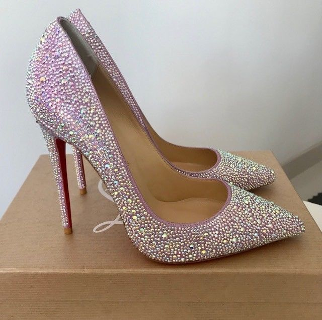 Christian Louboutin Swarovski Crystal Strass So Kate 120mm Heels Shoes 39 Highheelshoes Fashion Heels Christian Louboutin Heels Heels