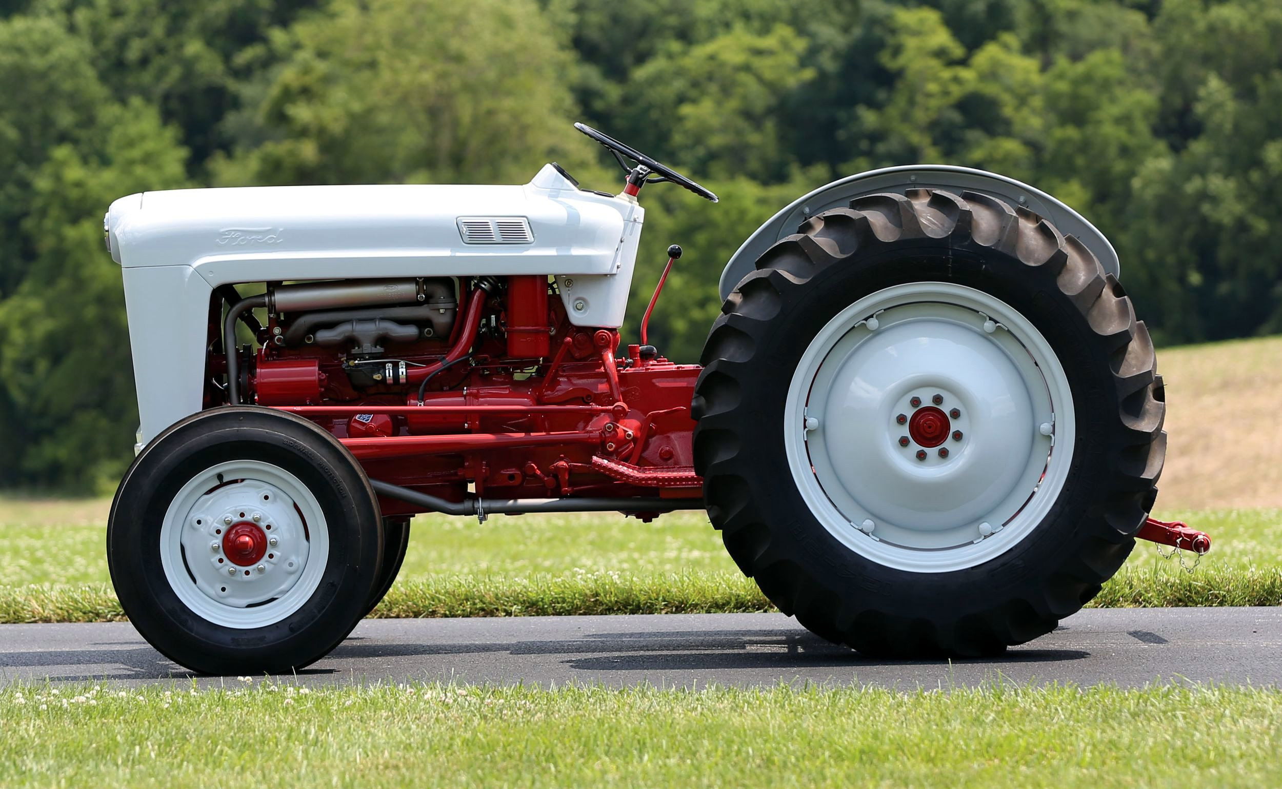 1953 Ford Golden Jubilee Tractors Classic Tractor Ford Tractors