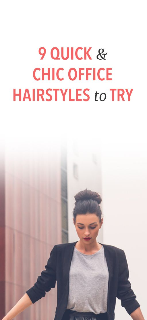 9 Hairstyles For The Office That Are So Corporate Chic Office Hairstyles Interview Hairstyles Medium Hair Styles