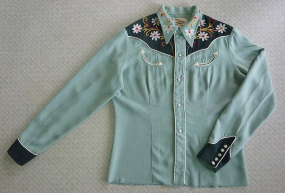 California Ranchwear Vintage 1950s 50s Womens by cowpunkabilly