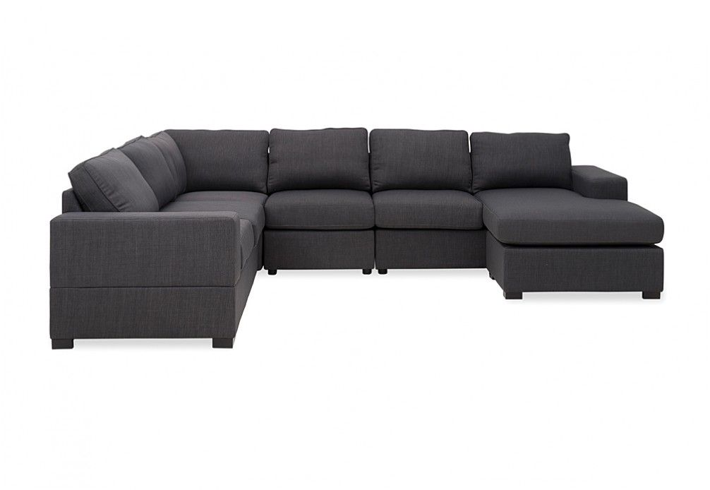 Ross Corner Lounge with Reversible Chaise Super AMart New