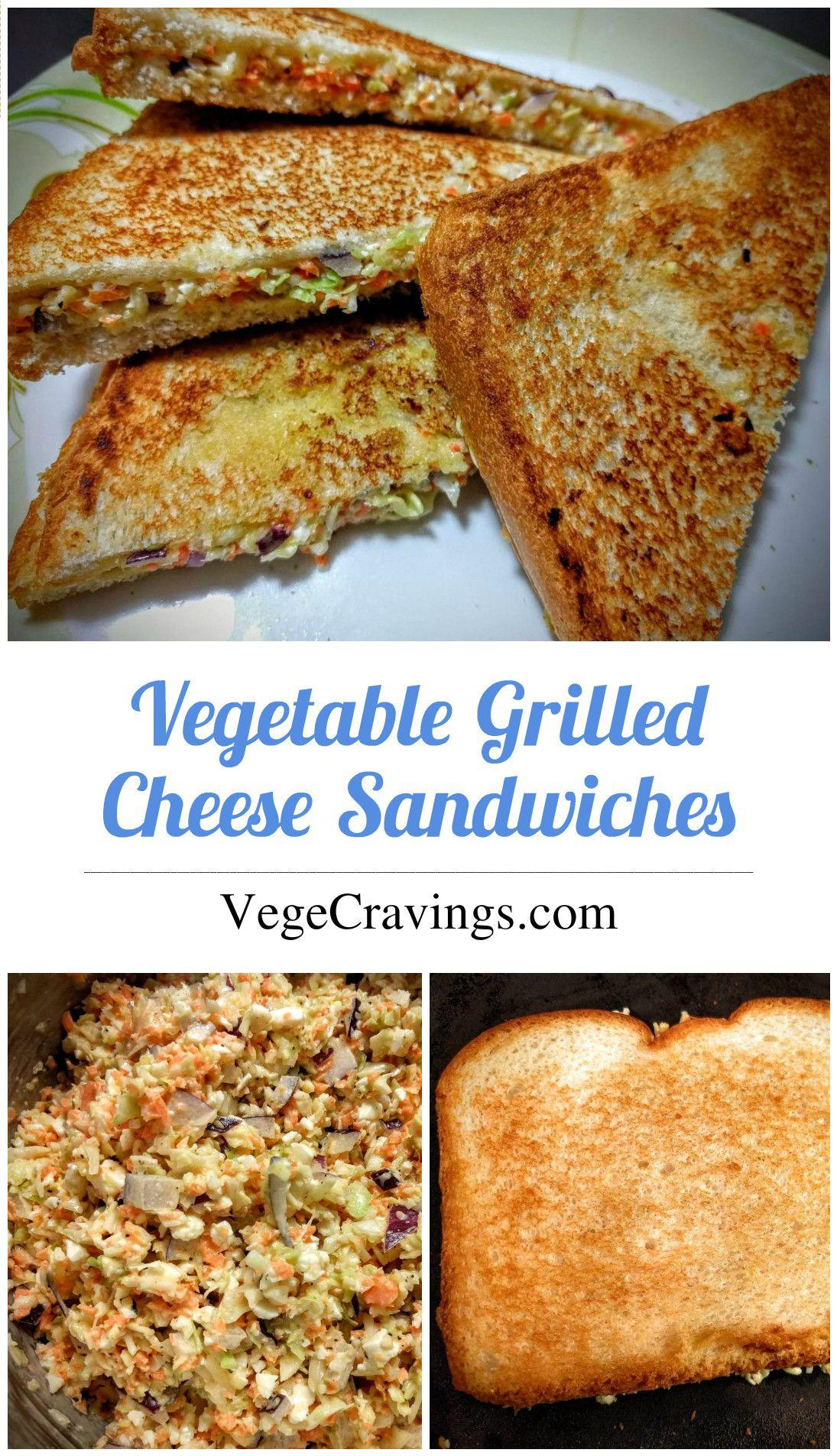 Veg Grilled Cheese Sandwich Recipe Vegecravings Recipe Sandwich Recipes Indian Vegetarian Grilled Cheese Cheese Sandwich Recipes