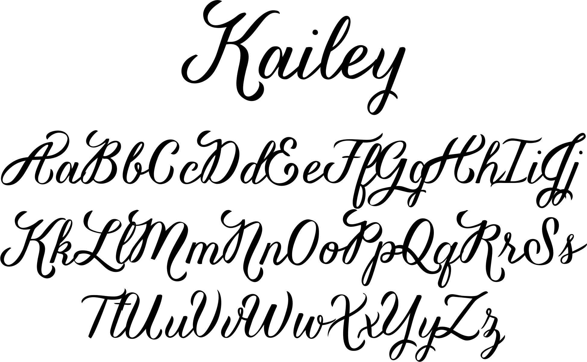 hand lettering fonts free kailey font a lettered voluptuous typeface with a 12093 | c6930cdbf052be48343a3f397a9bc286