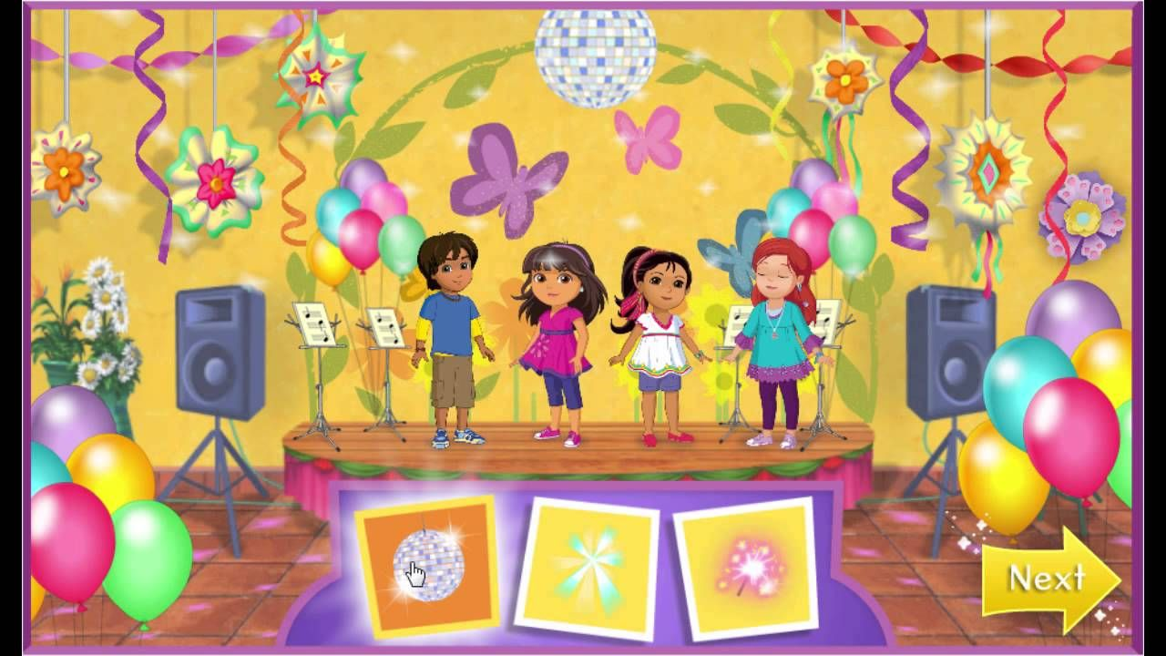 Ni nick jr games and coloring on online - Nick Jr Dora And Friends Into The City Concert Day Game Play Walkthrough