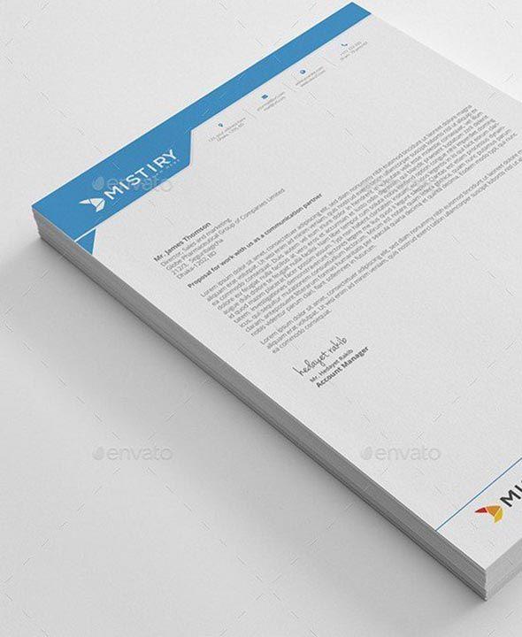 Letterhead Pad  Design Inspiration    Letterhead