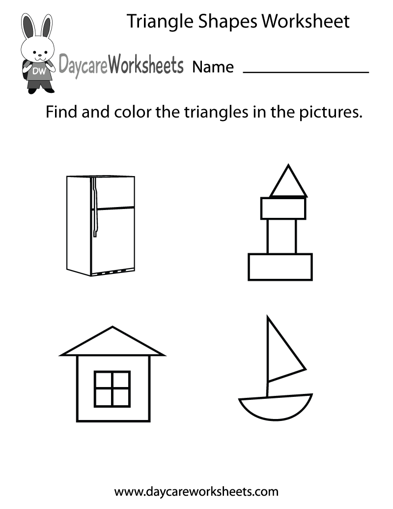 This free learning shapes printable asks preschoolers to find and ...