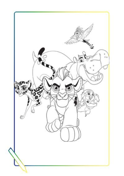 The Lion S Guard Coloring And Horse Coloring Pages Horse Coloring Coloring Pages