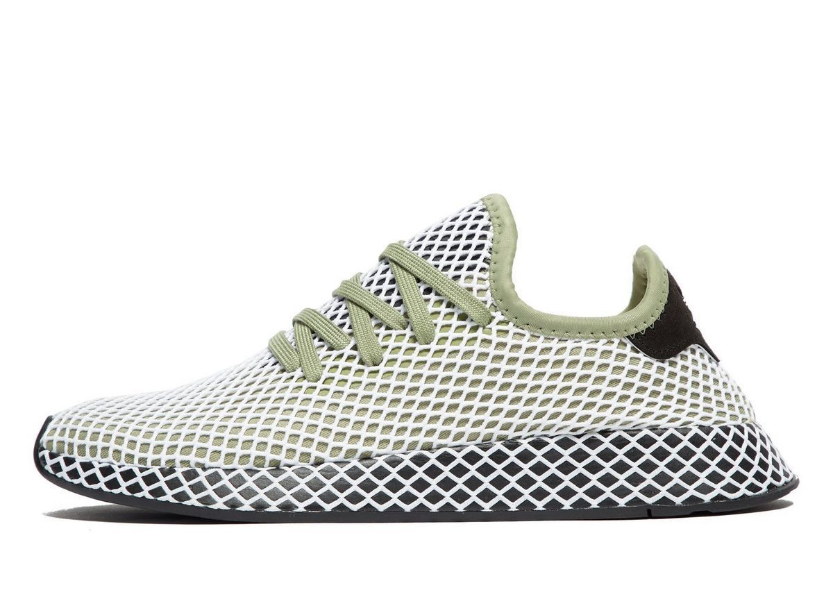Adidas Deerupt Runner In Green For Jd Sports Eu Kicks Sneaker Magazine Zapatillas Adidas Superstar Zapatillas Sneakers Zapatillas