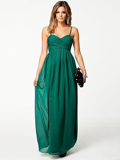 e4bc14eab64e01 Hilary Dress - Nly Eve - Green - Party Dresses - Clothing - Women -  Nelly.com Uk