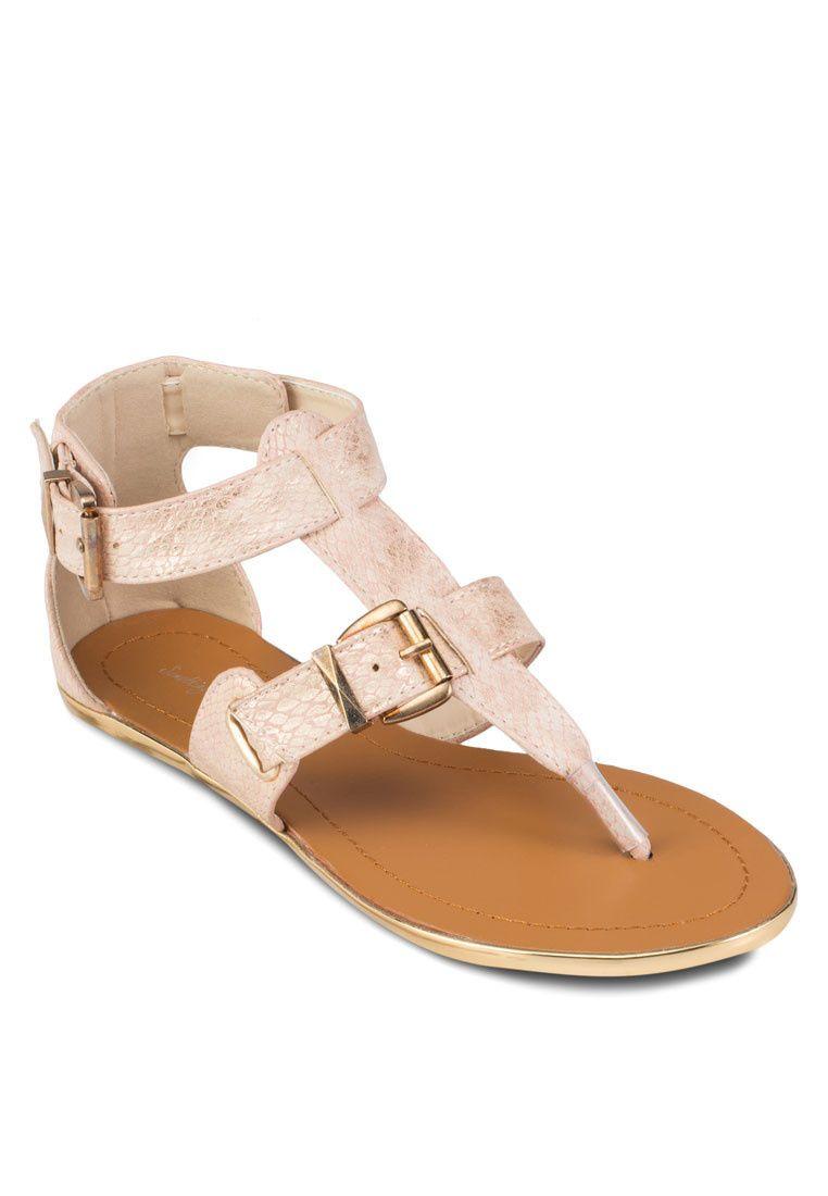 c999d08806fa Buy Something Borrowed Buckled Embellished Sandals