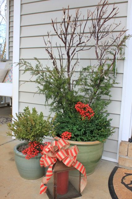 natural outdoor christmas decorations - Natural Outdoor Christmas Decorations