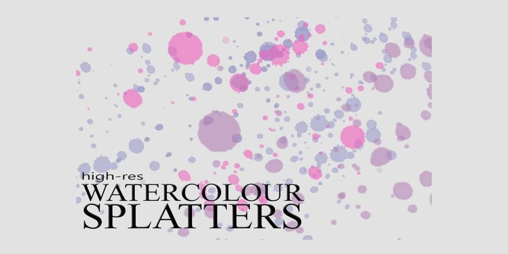 8 Splatter Brushes For Photoshop Abstract Photoshop Splatter