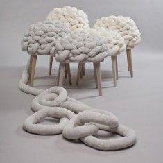 Great Cloud Stool By Studio Joon+Jung Design