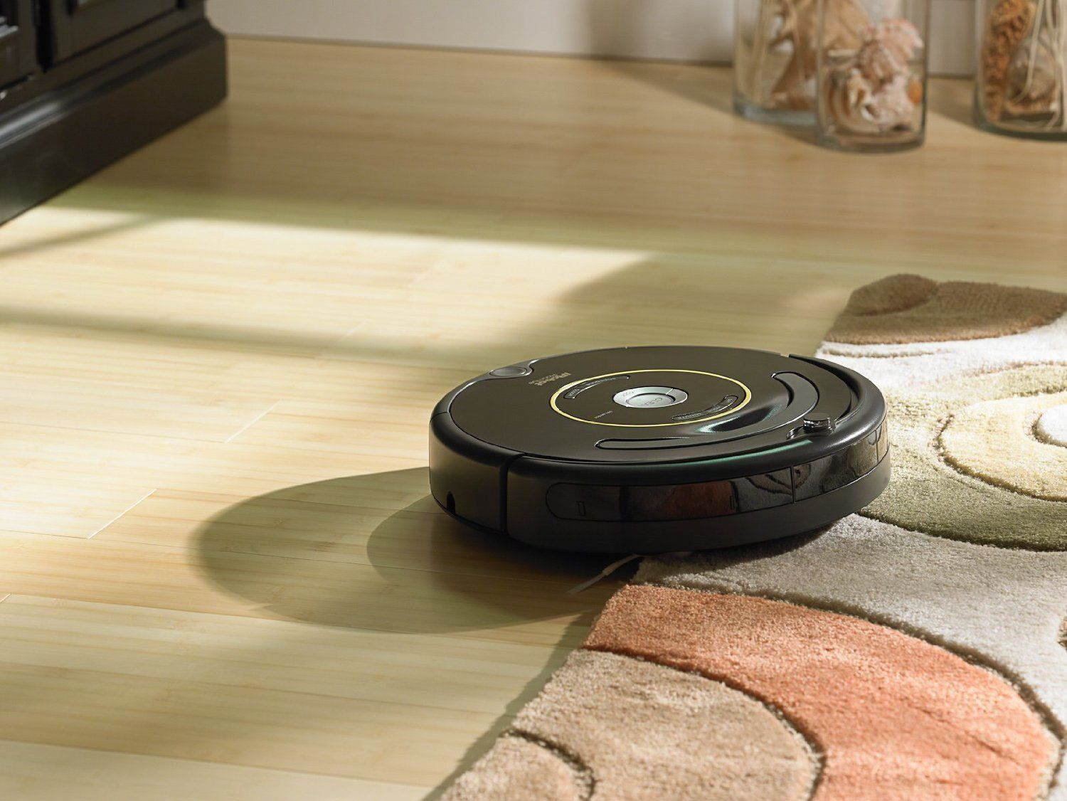 A Roomba that vacuums and brushes your floors. Roomba