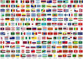 ver banderas del mundo con sus nombres