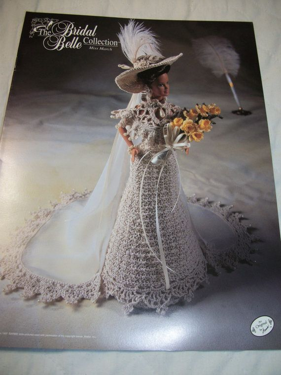 Image detail for -Annie's Attic Bridal Barbie Doll Crochet Pattern The Bridal Belle ...
