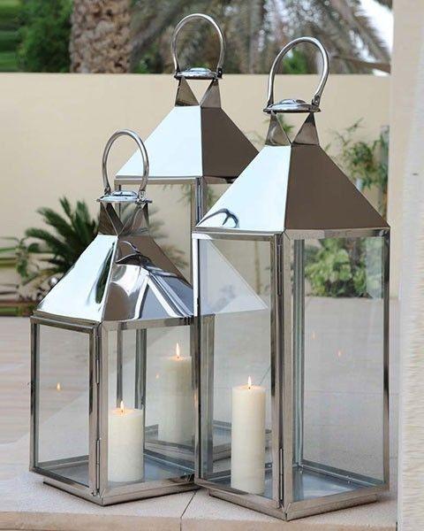 Ambience Large Candle Holders Decor Lanterns Decor