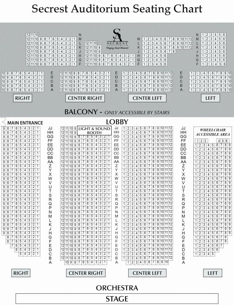 Orpheum Omaha Seating Chart