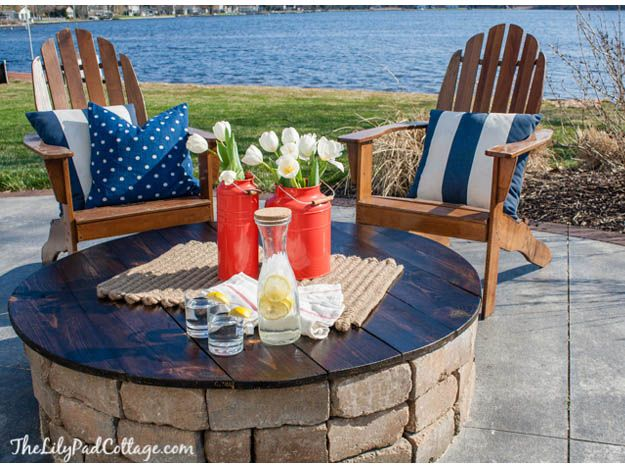 13 diy projects For Men fire pits ideas