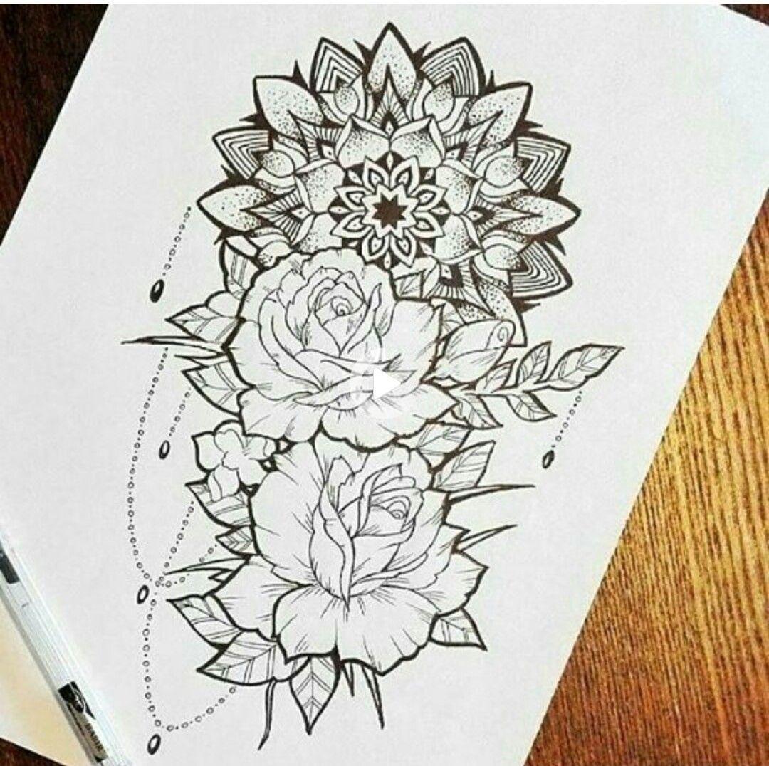Pinterest Tanyacrumlishx Rose Tattoos For