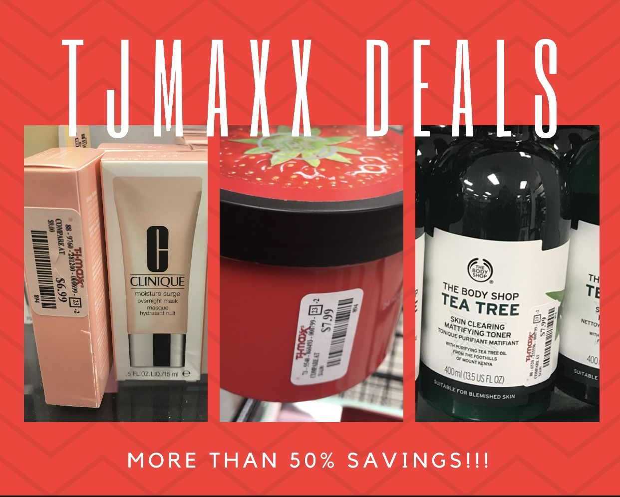 Tj Maxx Is Loaded With High End Skin Care Products They Have Tons Of Products From The Body Shop Line That The Body Shop Skin Care Deals Skin Care Shopping