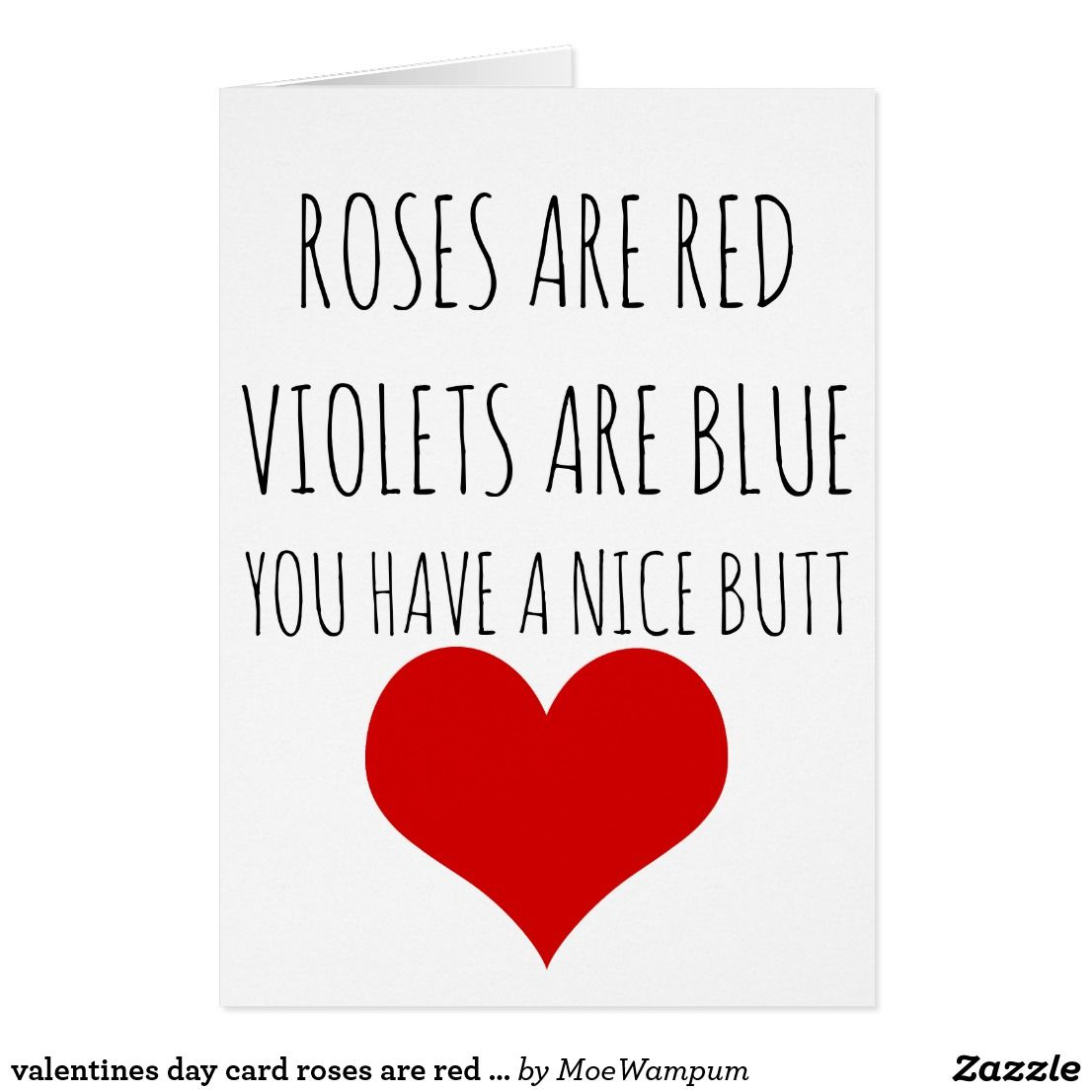 Roses Are Red Violets Are Blue Christmas Xmas Red Roses Creative Valentines Valentines Cards