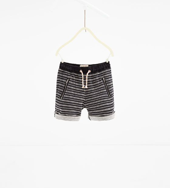 d55fc887 Image 1 of Bermuda shorts with zips from Zara | Boy's Fashion | S/S ...
