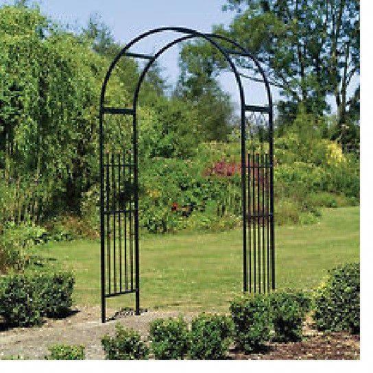 Gothic Garden Arch Arbor Wedding Steel Yard Patio Trellis Pathway