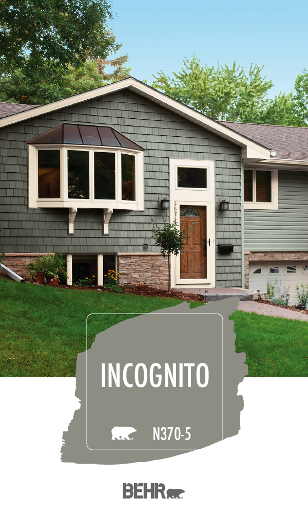 for a dark and moody gray that s sure to stand out turn on behr exterior house paint photos id=87663