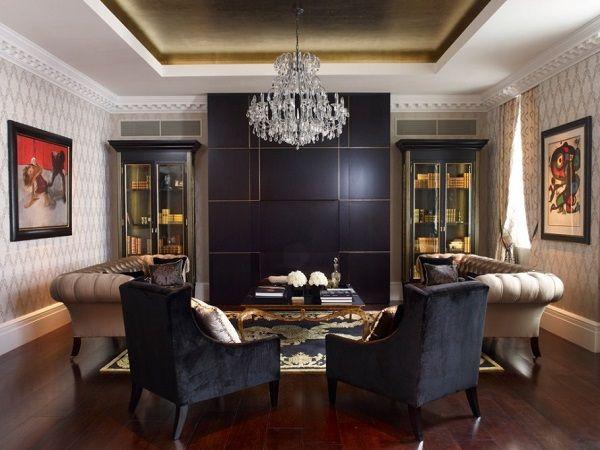 Browse best black living room decorating ideas, interior design tips