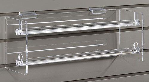 Double Sticker Ribbon Dispenser For Slatwall 8506sw Slat Wall Wrapping Paper Holder Southlake
